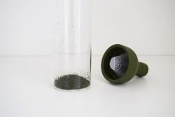 HARIOフィルターインボトルで煎茶水出し